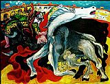 Pablo Picasso BULLFIGHT DEATH OF THE TOREADOR La corrida painting