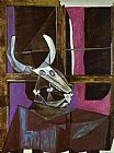 Pablo Picasso Still Life with Steers Skull painting