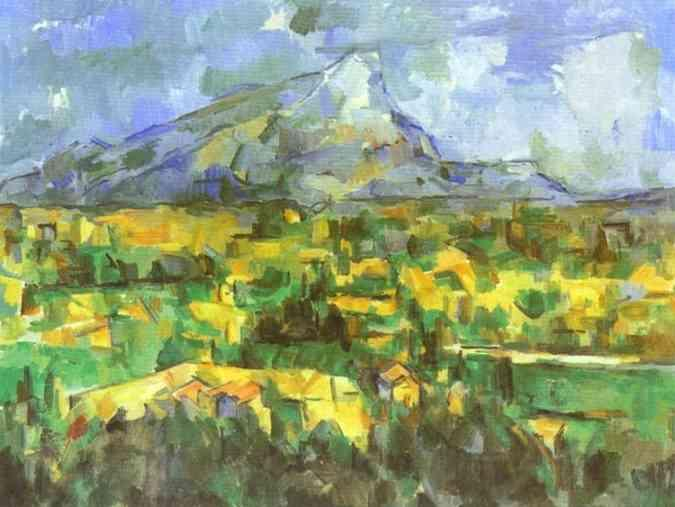 Paul Cezanne Mount Sainte-Victoire