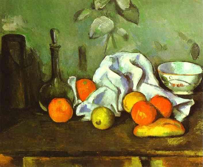 Paul Cezanne Still Life with Fruit