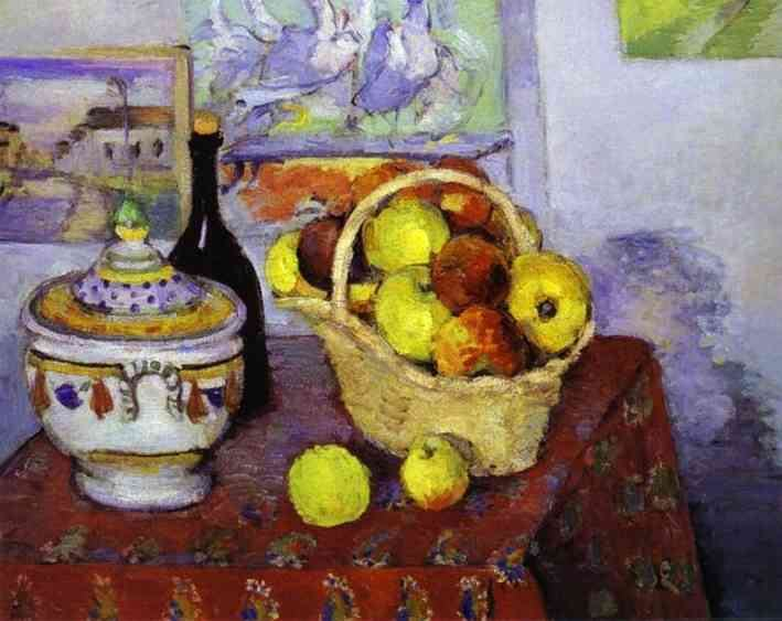 Paul Cezanne Still Life with Soup Tureen