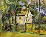 Paul Cezanne Famous Paintings - House and Trees