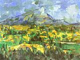 Paul Cezanne Mount Sainte-Victoire painting