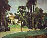 Paul Cezanne Famous Paintings - Road at Pontoise