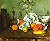 Paul Cezanne Famous Paintings - Still Life with Fruit