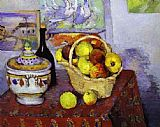 Paul Cezanne Famous Paintings - Still Life with Soup Tureen