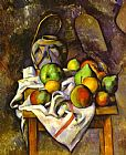 Paul Cezanne Straw Vase painting