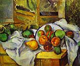 Paul Cezanne Famous Paintings - Table Corner