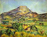 Paul Cezanne Famous Paintings - The Mount Sainte-Victoire