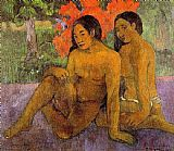 Paul Gauguin And the Gold of Their Bodies painting