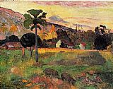 Paul Gauguin Canvas Paintings - Come Here