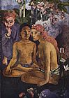 paul gauguin Canvas Paintings - Cruel Tales
