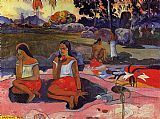 Paul Gauguin Delightful Drowsiness painting