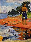 Paul Gauguin Famous Paintings - Haere Pape