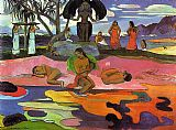 Paul Gauguin Mahana No Atua painting