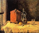 Paul Gauguin Still Life with Mig and Carafe painting