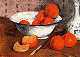 Paul Gauguin Famous Paintings - Still Life with Oranges