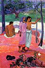 Paul Gauguin The Call painting