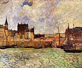 Famous Port Paintings - The Port Dieppe