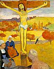 Paul Gauguin Famous Paintings - The Yellow Christ