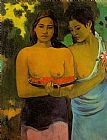 Women Wall Art - Two Tahitian Women