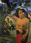 paul gauguin Wall Art - Where Are You Going 2
