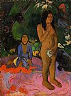 Paul Gauguin Words of the Devil painting