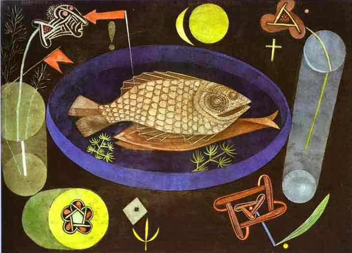 Paul Klee Around the Fish