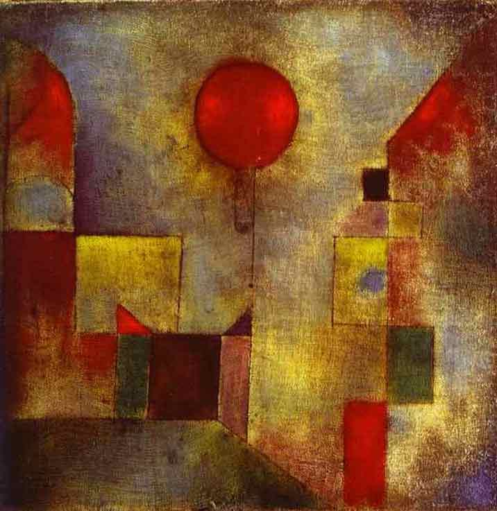Paul Klee Red Ballon