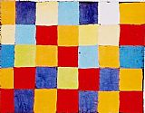 Paul Klee Canvas Paintings - Farbtafel