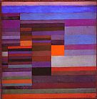Paul Klee - Fire in the Evening