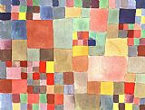 Paul Klee Canvas Paintings - Flora on Sand
