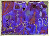 Paul Klee Canvas Paintings - Hermitage