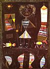 Paul Klee Puppet Theater painting