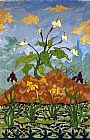 Paul Ranson - Arums and Purple and Yellow Irises