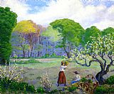 Paul Ranson - Picking Flowers