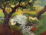 Paul Ranson - Three Bathers with Irises