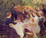 Peder Severin Kroyer - Hip hip hurra