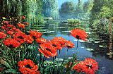 Melissa Graves-Brown Springtime Red Poppies painting