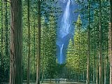 Melissa Graves-Brown Yosemite Falls painting