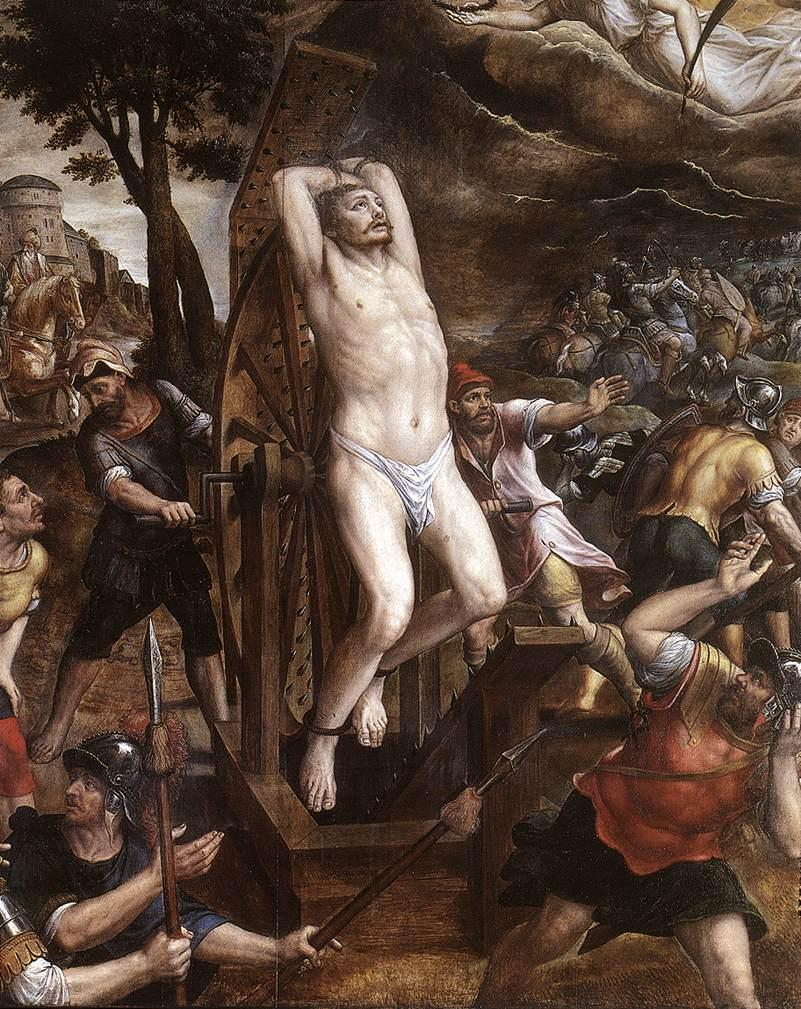 Peter Paul Rubens the torture of st george michiel van coxcie