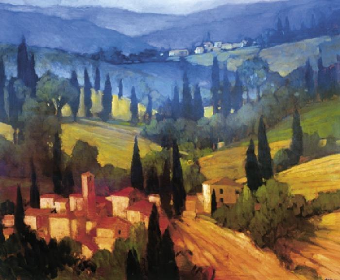 Philip Craig Tuscan Valley View