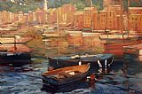 Philip Craig - Anchored Boats - Portofino