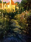 Philip Craig - Garden Walk at Sunset