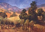 Philip Craig Southern Vineyard Hills painting