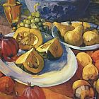 Philip Craig Still Life with Acorn Squash painting