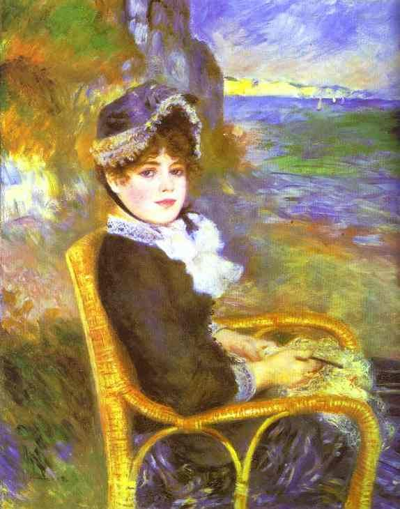Pierre Auguste Renoir By the Seashore