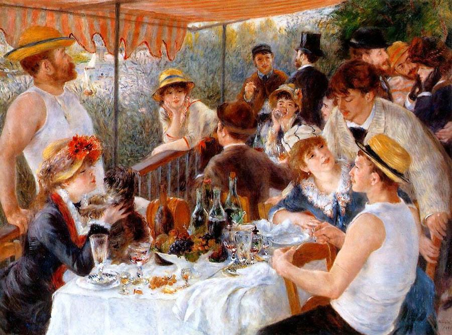 Pierre Auguste Renoir The Boating Party Lunch I