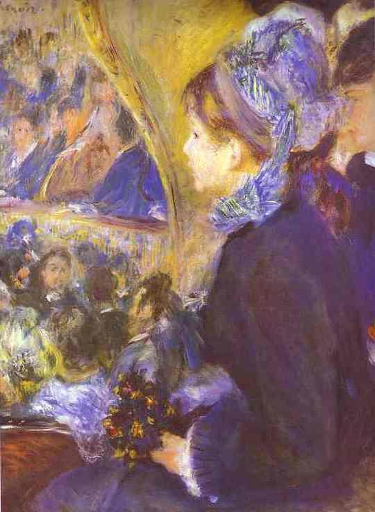 Pierre Auguste Renoir The First Outing