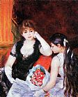 Pierre Auguste Renoir At the Concert painting